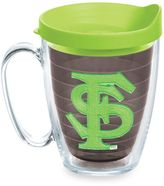 Tervis Florida State University Seminoles 15 oz. Colored Emblem Mug with Lid in Neon Green