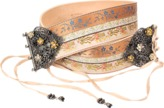 Etro Silk Ribbon Belt