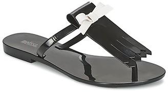 Melissa T BAR III women's Flip flops / Sandals (Shoes) in Black
