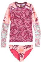 Maaji Temple of Joy Two-Piece Rashguard Swimsuit