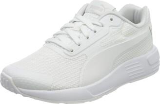 Puma Kids' Taper JR Sneaker Peacoat White 4 UK