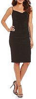 Laundry by Shelli Segal Shirred Sheath Dress
