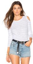 360 Sweater Furonda Open Shoulder Tee