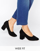 Asos Simone Wide Fit Heels
