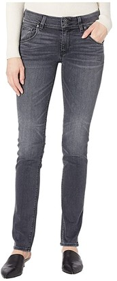 Hudson Jeans Collin Classic Pocket Mid-Rise Skinny in Jet Fuel (Jet Fuel) Women's Jeans