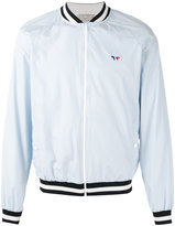 MAISON KITSUNÉ zipped bomber jacket - men - Polyester - L