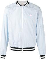 MAISON KITSUNÉ zipped bomber jacket