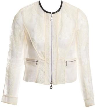 Erdem White Cotton Jackets