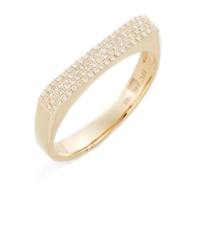 Ef Collection Jumbo Diamond Bar Ring