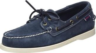 Sebago Men's Docksides Portland Suede 7000G90 Boat Shoes (Blue Navy 908) 7 UK