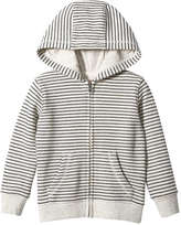 Joe Fresh Toddler Boys' Zip Up Hoodie, Light Oat Mix (Size 5)