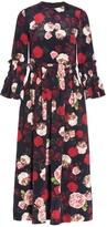 Mother of Pearl Rosalie Printed Midi Dress