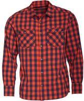 Berghaus Mens Explorer 2.0 Long Sleeve Check Shirt Red/Dark Blue
