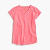 J.Crew Girls' supersoft V-neck T-shirt
