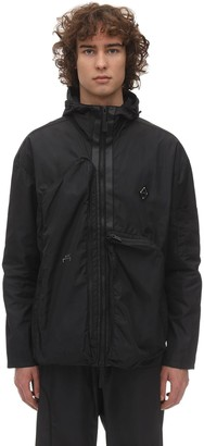 A-Cold-Wall* Hooded Zip-up Techno Jacket