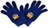 F.C. Barcelona FC Barcelona Official Gift Adults Knitted Gloves Navy