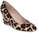 Kate Spade 'amory' round toe wedge pump (Women)