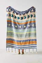 Anthropologie Woven Darrah Throw Blanket