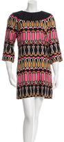 Milly Silk Geometric Print Dress