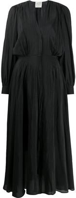 Forte Forte V-Neck Maxi Dress