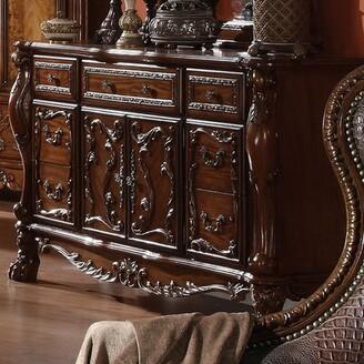 Astoria Grand Welliver Traditional 5 Drawer Combo Dresser Color: Cherry Oak
