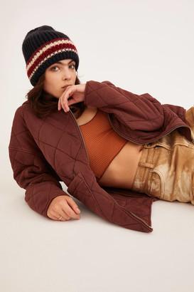 Urban Outfitters Prep Stripe Knit Beanie