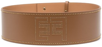 Elisabetta Franchi Studded Leather Belt