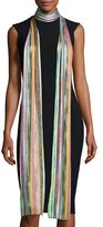 Missoni Long Metallic Zigzag Scarf, Multicolor