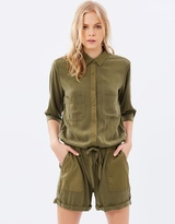 Maison Scotch Oversized Playsuit