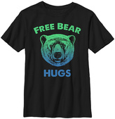 Fifth Sun Black & Green 'Free Bear Hugs' Crewneck Tee - Boys