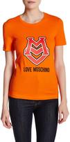 Love Moschino Matte Logo Graphic Tee
