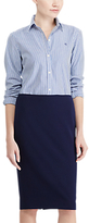 Lauren Ralph Lauren Pencil Skirt, Navy