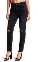 Lovers + Friends Logan High Rise Tapered Leg Jeans