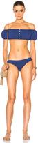Lisa Marie Fernandez Leandra Button Down Bikini