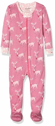 Hatley Baby Girls' Footed Coverall Sleepsuit