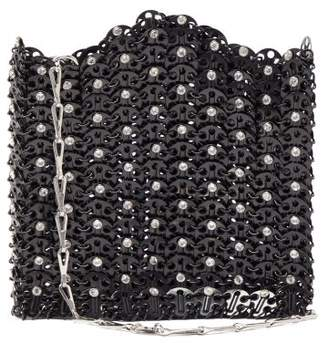 Paco Rabanne Iconic 1969 Chain Shoulder Bag - Womens - Black