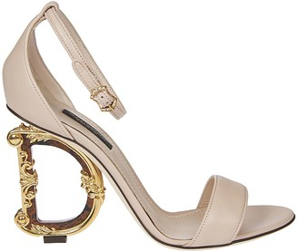Dolce & Gabbana D Heel Sandals