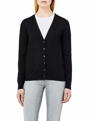 Meraki Women's Fine Merino Wool V-Neck Cardigan Sweater