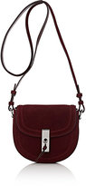 Altuzarra Women's Ghianda Mini Saddle Bag-Burgundy