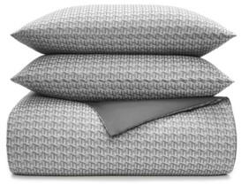 Tommy Hilfiger Global Jacquard Twin Duvet Set Bedding