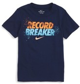 Nike Boy's Record Breaker Graphic T-Shirt