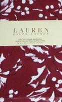 Ralph Lauren Bowen Burgundy Set of 4 Cloth Napkins