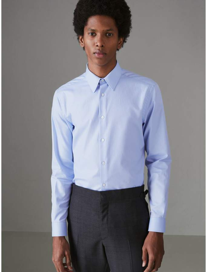 Burberry Modern Fit Cotton Shirt
