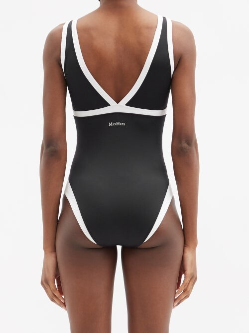 Thumbnail for your product : MAX MARA BEACHWEAR Zigrino Swimsuit - Black