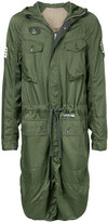 Undercover long military parka