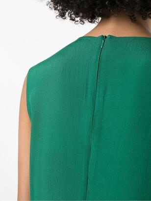 OSKLEN panelled Loose dress