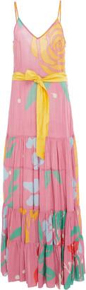 Carolina K. Julia Printed Maxi Dress