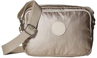 Kipling Silen Crossbody Camera Bag (Cloud Metal) Handbags