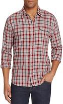 Paige Everett Plaid Flannel Regular Fit Button-Down Shirt