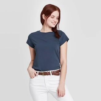 Universal Thread Women's Striped Short Sleeve T-Shirt - Universal ThreadTM